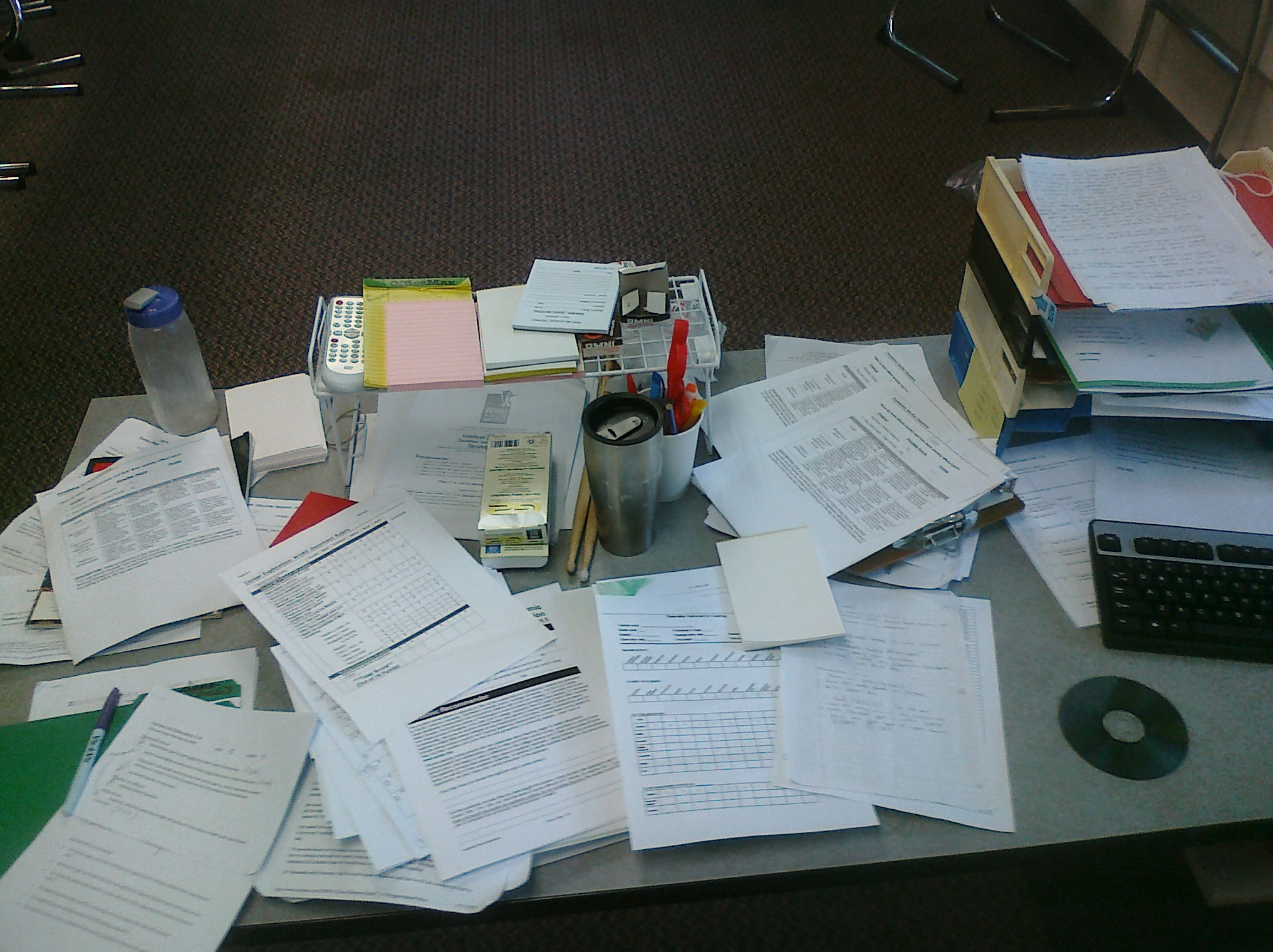 Messy Teacher Desk Road To Teaching Blog Resources